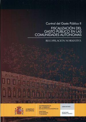 CONTROL DEL GASTO PÚBLICO II. RECOPILACIÓN NORMATIVA