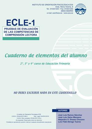 ECLE 1 (1 Y 2 ) PRUEBAS EVALUACION MANUAL + 10 USOS