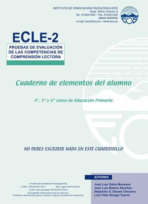 ECLE 2 (1 Y 2) PRUEBAS EVALUACION MANUAL + 10 USOS