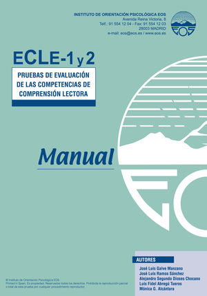 ECLE 1 Y 2. MANUAL