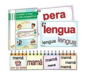 ENSEÑO A LEER A MIS PEQUEÑOS/AS (JUEGO COMPLETO)