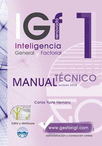 IGF-1R. MANUAL TÉCNICO