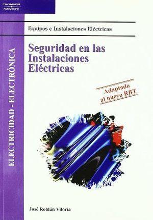 SEGURIDAD EN LAS INSTALACIONES ELECTRICAS CF