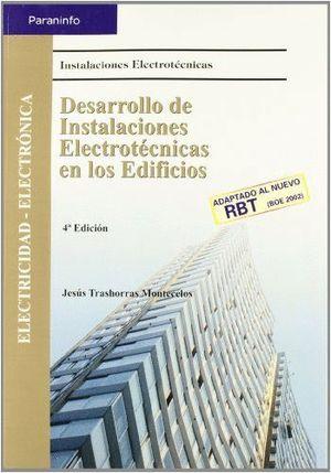 DESARROLLO DE INSTALACIONES ELECTROTÉCNICAS EN LOS EDIFICIOS