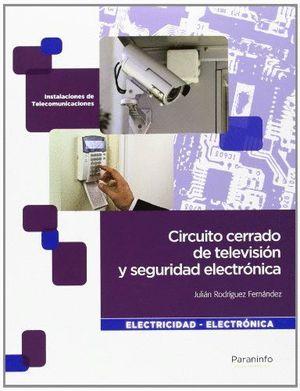 CIRCUITO CERRADO DE TELEVISIÓN Y SEGURIDAD ELECTRÓNICA