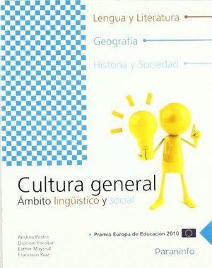 CULTURA GENERAL. AMBITO LINGUISTICO Y SOCIAL