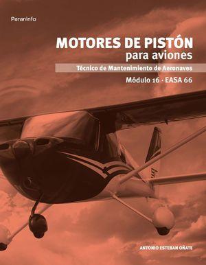 MOTORES DE PISTON PARA AVIONES MODULO 16