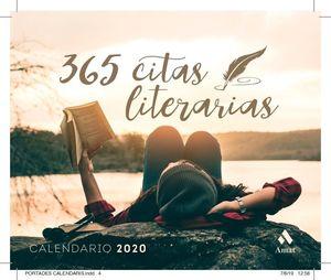 CALENDARIO TACO 2020 365 CITAS LITERARIAS