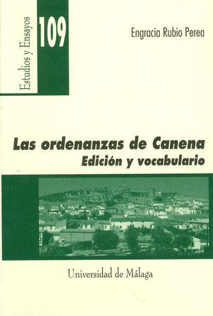 LAS ORDENANZAS DE CANENA