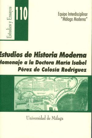 ESTUDIOS DE HISTORIA MODERNA