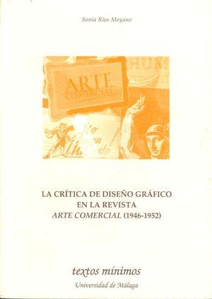 LA CRITICA DE DISEÑO GRAFICO EN LA REVISTA ARTE COMERCIAL