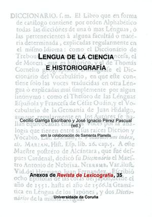 LENGUA DE LA CIENCIA E HISTORIOGRAFÍA