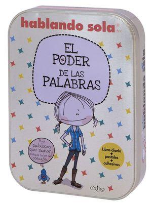 CAJA HABLANDO SOLA EL PODER DE LAS PALABRAS