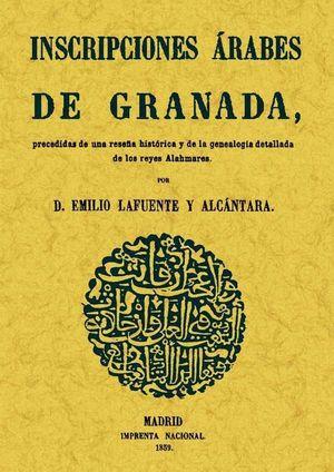 INSCRIPCIONES ARABES DE GRANADA