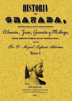 HISTORIA DE GRANADA COMPRENDIENDO SUS CUATRO PROVINCIAS 2 TOMOS