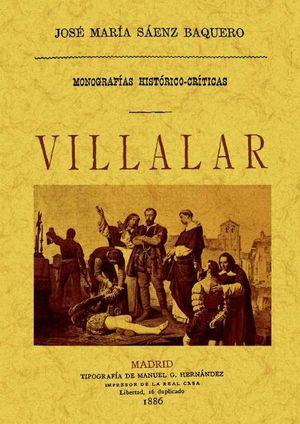 MONOGRAFIA HISTORICO-CRITICA DE VILLALAR
