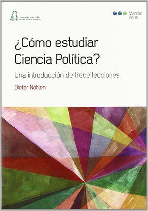 ¿CÓMO ESTUDIAR CIENCIA POLÍTICA?