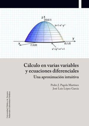 CALCULO EN VARIAS VARIABLES Y ECUACIONES DIFERENCIALES