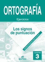 CUADERNO ORTOGRAFIA 3 SIGNOS DE PUNTUACION