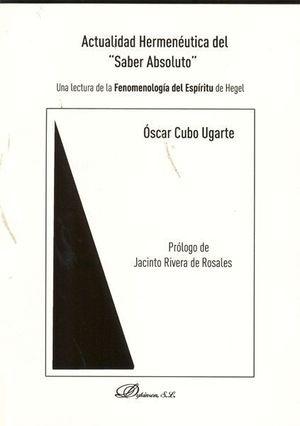 ACTUALIDAD HERMENÉUTICA DEL