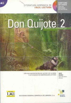 DON QUIJOTE 2 +CD (A2)