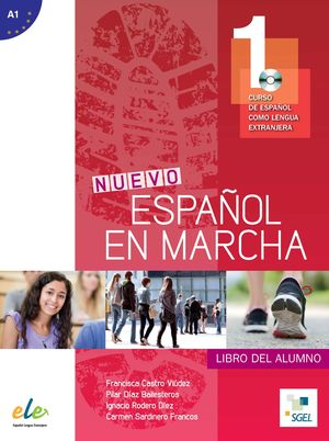 NUEVO ESPAÑOL EN MARCHA 1 LIBRO DEL ALUMNO +CD A1