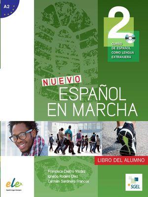 NUEVO ESPAÑOL EN MARCHA 2 LIBRO DEL ALUMNO +CD A2