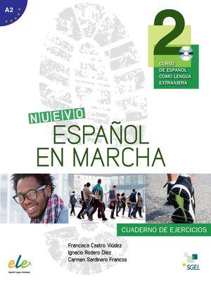 NUEVO ESPAÑOL EN MARCHA 2 CUADERNO DE EJERCICIOS + CD A2
