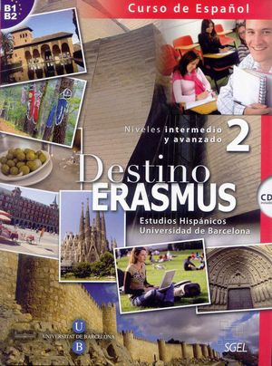 DESTINO ERASMUS 2 +CD (B1-B2) NIVELES INTERMEDIO Y AVANZADO