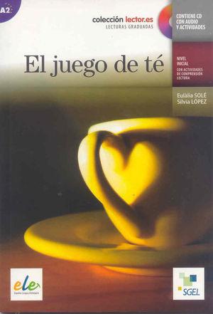 EL JUEGO DE TE +CD