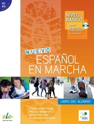 NUEVO ESPAÑOL EN MARCHA NIVEL BASICO LIBRO ALUMNO +CD (A1-A2)