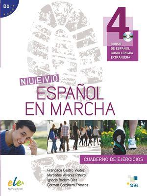 NUEVO ESPAÑOL EN MARCHA 4 CUADERNO EJERCICIOS +CD (B2)