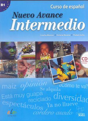 NUEVO AVANCE INTERMEDIO ALUMNO +CD (B1)