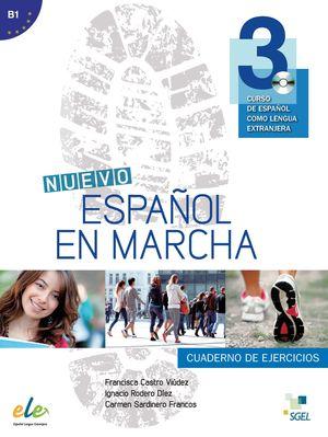 NUEVO ESPAÑOL EN MARCHA 3 CUADERNO EJERCICIOS +CD (B1)