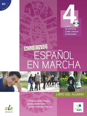 NUEVO ESPAÑOL EN MARCHA 4 LIBRO DEL ALUMNO +CD B2
