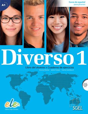 DIVERSO 1 +CD A1 LIBRO DEL ALUMNO + CUADERNO DE EJERCICIOS