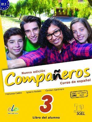 COMPAÑEROS 3 ALUMNO B1.1 NUEVA EDICION