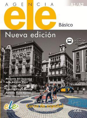 AGENCIA ELE BASICO LIBRO DE EJERCICIOS A1/A2 NUEVA EDICION 2017