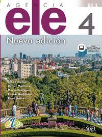 AGENCIA ELE 4 LIBRO DE CLASE