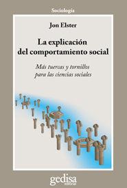 LA EXPLICACION DEL COMPORTAMIENTO SOCIAL