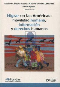 MIGRAR EN LA AMÉRICAS
