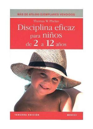 DISCIPLINA EFICAZ PARA NIÑOS DE 2 A 12 AÑOS
