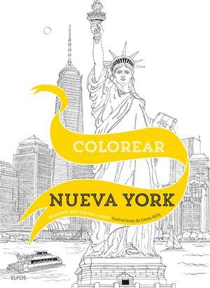 COLOREAR NUEVA YORK