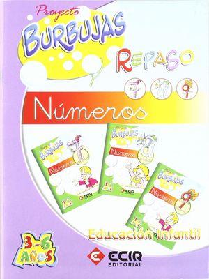 CUADERNO REPASO NUMEROS 7,8 Y 9 PROYECTO BURBUJAS