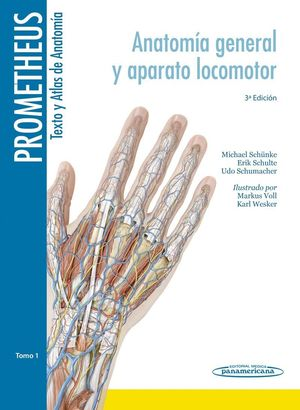 ATLAS ANATOMIA PROMETHEUS TEXTO Y ATLAS 3 VOL.