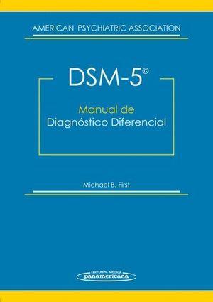 DSM-5. MANUAL DE DIAGNOSTICO DIFERENCIAL