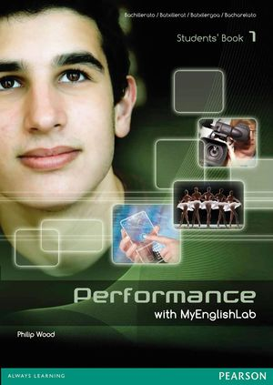 PERFORMANCE 1 STUDENTS' BOOK WITH MYENGLISHLAB