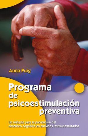 PROGRAMA DE PSICOESTIMULACION PREVENTIVA.