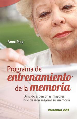 PROGRAMA DE ENTRENAMIENTO DE LA MEMORIA