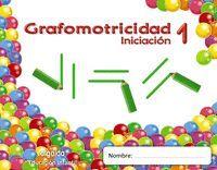 TRAZOS Y TRAZOS 1. INICIACIÓN. GRAFOMOTRICIDAD.